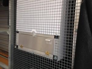 SL8 hood installed